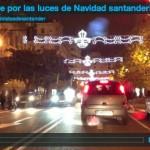 Un viaje por las luces de Navidad santanderinas