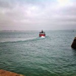 Día gris en la bahía