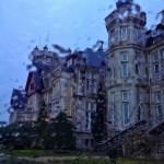 El palacio de la Magdalena pasado por agua