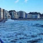 La mar se traga la Segunda del Sardinero