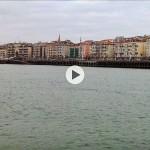 La sensación de llegar navegando al centro de Santander
