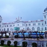 Postales de Santander: Día de lluvia en el Sardinero