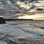 Respira y mira el atardecer de la playa de Los Locos
