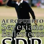 Una iniciativa ciudadana propone que el aeropuerto de Parayas cambie su nombre por el de Severiano Ballesteros Santander