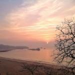 Cómo el sol gana terreno en la bahía de Santander