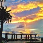 Un amanecer insuperable desde Piquío