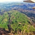 Maniobra de aterrizaje en el aeropuerto de Santander