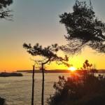 La isla de Mouro no se pierde un amanecer
