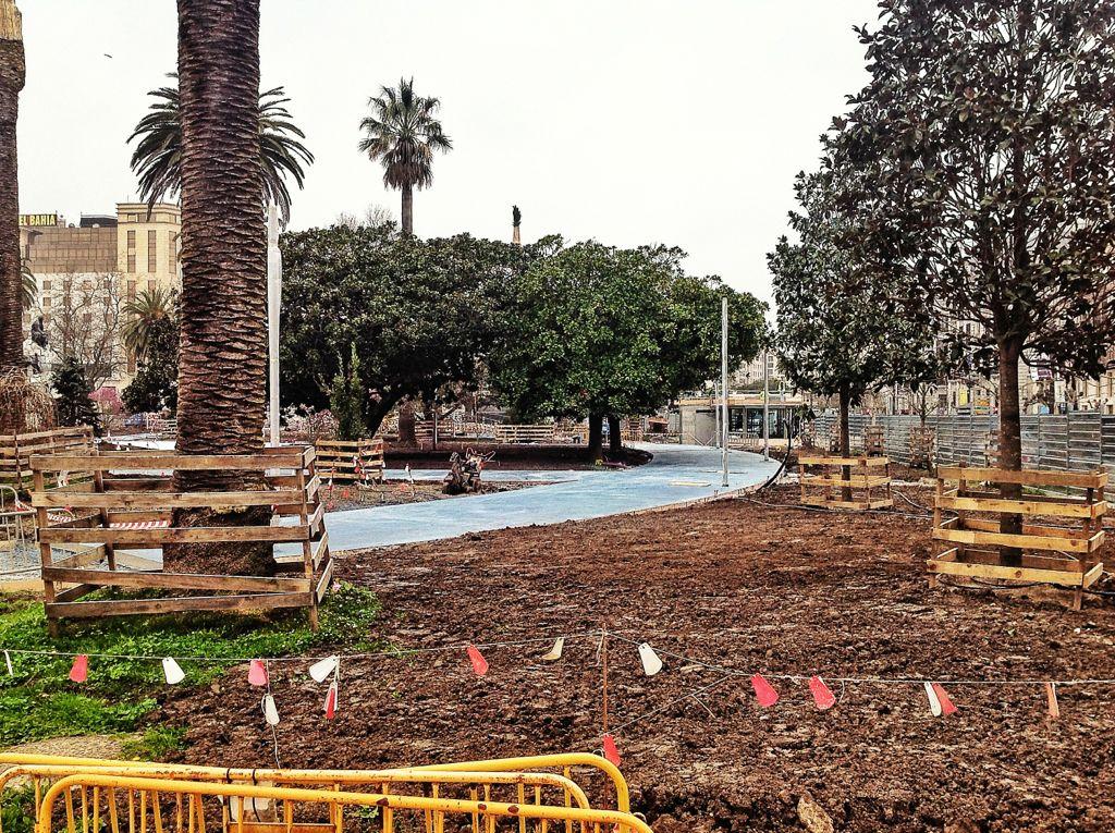 Jardines de pereda obras camino el tomavistas de santander for Jardines de pereda