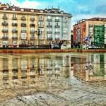 Santander se mira al espejo tras un chaparrón