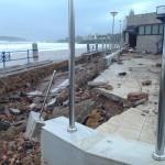 Daños del nuevo temporal: Desolación en la Segunda del Sardinero