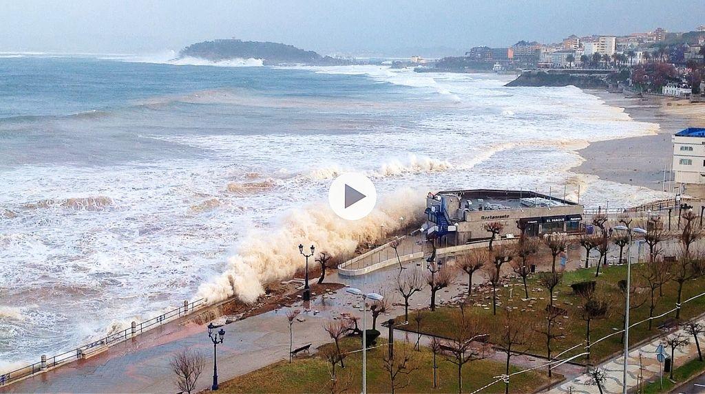 video-nuevo-temporal-sardinero-parque
