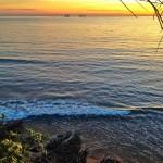 La paleta de colores de un amanecer santanderino