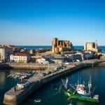 El puerto de Castro, a vista de dron