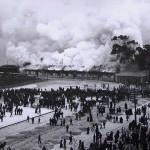 Hubo un tiempo en que los santanderinos prendíamos fuego a las estaciones de tren