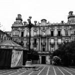 Postales de Santander en blanco y negro