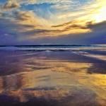 Una ola que separa dos mundos