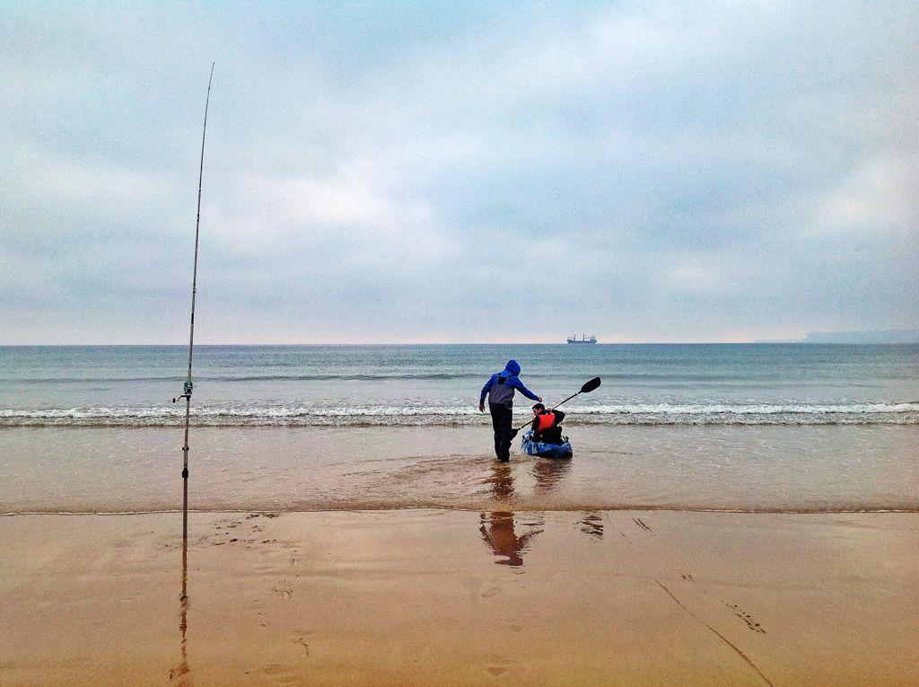 pesca-tierra-canoa-sardinero
