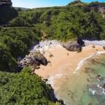 El paraíso a vista de dron