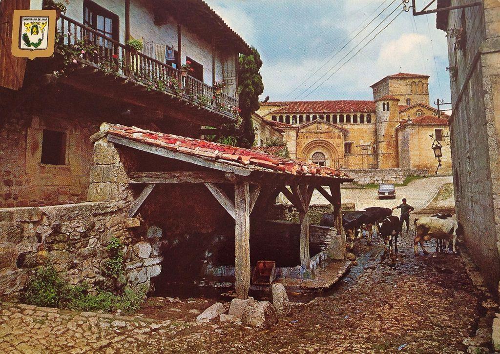 santillana-abrevadero-vacas-colegiata