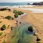 Las pozas de la Virgen del Mar, paraíso perruno