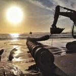 31.000 metros cúbicos de arena para las playas del Sardinero
