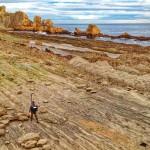 Las lastras de La Arnía, lugar de pescadores