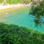 Las aguas de Mataleñas son azul turquesa
