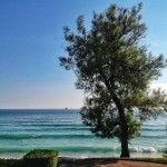 Ensimismado por la mar del Sardinero