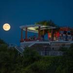 Luna llena sobre Piquío