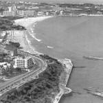 Santander cuando el parking de la playa del Camello era una selva