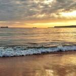 El batir de la ola