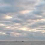 Un cielo que dialoga con la mar