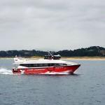 Los Reginas estrenan barco que ya surca la bahía