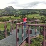 Suspéndete en el aire desde el mirador de las Cascadas del Gándara