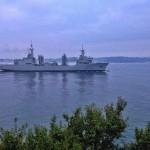 El buque Cantabria llega a Santander con motivo del Mundial de Vela
