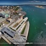 El majestuoso campo de regatas del Mundial de Vela de Santander