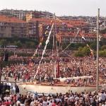 Lleno hasta la bandera en la inauguración del Mundial de Vela de Santander