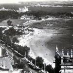 Santander cuando todavía no existía la playa de Bikinis