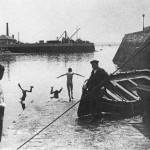 Los raqueros pegándose un cole en Puertochico