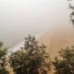 El Sardinero se esconde tras la niebla