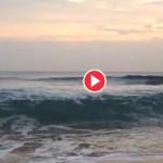 Mar otoñal en el Sardinero
