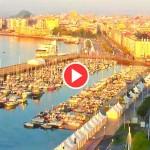 La vida diurna de Santander en un minuto. Desde el Palacio de Festivales