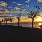 Un amanecer en calma y soledad