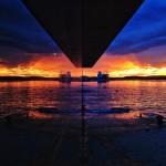 La bahía por partida doble