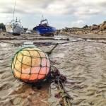 Una boya que añora la mar