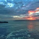 Llamaradas celestiales al amanecer