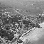 Santander cuando en la avenida de los Castros había 'praos'