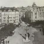 Santander en tiempos de la plaza Pi y Margall. Antigua vista de la plaza del ayuntamiento