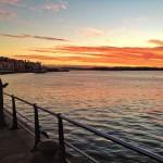 Anatomía de un amanecer en la bahía de Santander